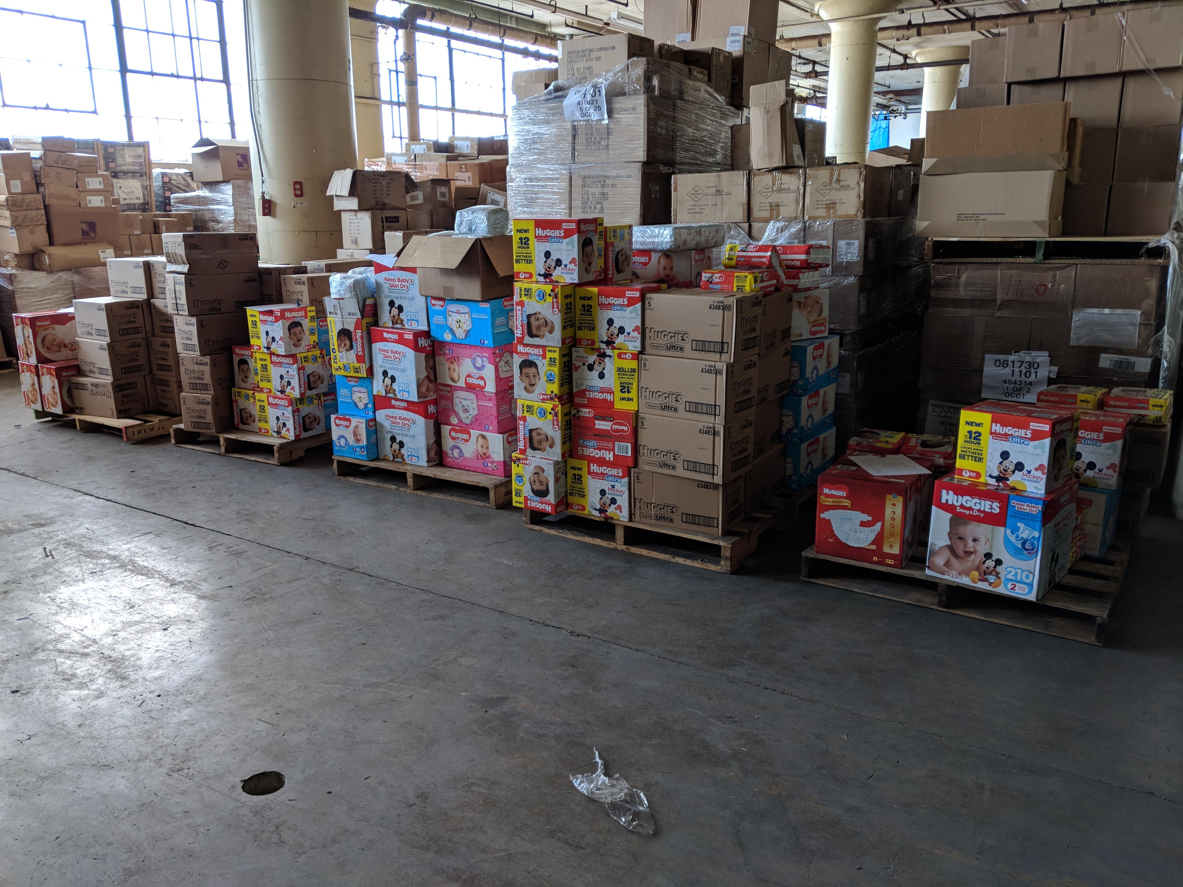 Lehigh Valley Homeless Children Diapers