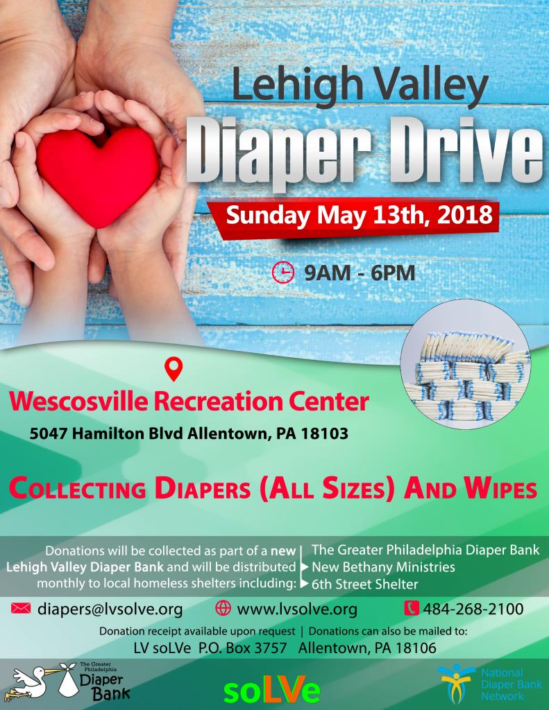Lehigh Valley Diaper Drive